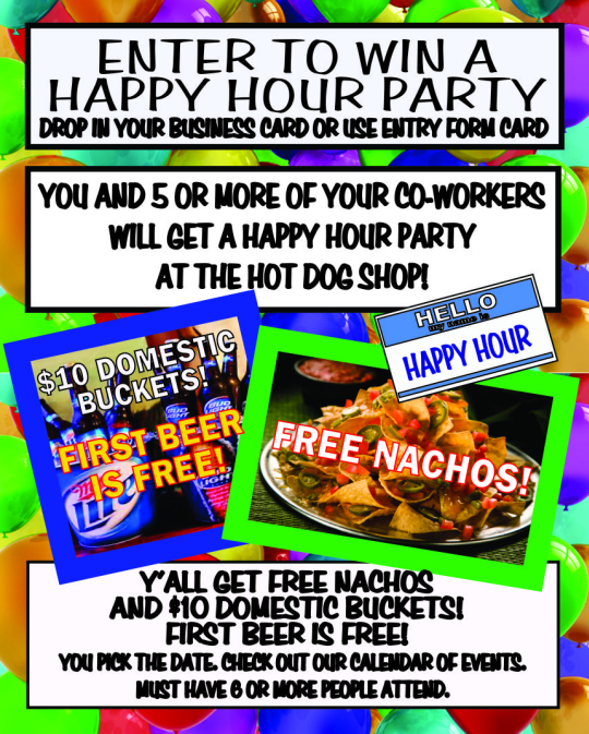Win A Happy Hour Party
