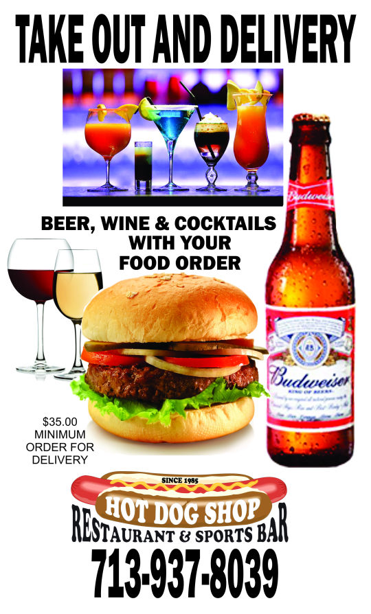 Beer, Wine & Cocktails with Take-Out & Delivery